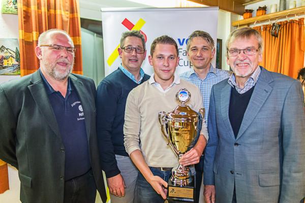 Peter Krebs, Marco Krey, Marcel Kassek, Stefan Mogwitz Günter Fließ (v.l.)
